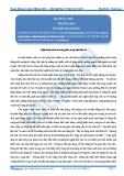 Luyện thi Đại học Kit 1 - Môn Ngữ Văn: Nghệ thuật miêu tả tương phản trong Hai đứa trẻ (Tài liệu bài giảng) - GV. Trịnh Thị Thu Tuyết