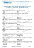 Chuyên đề LTĐH môn Hóa học: Căn bản-Kim loại tác dụng với phi kim