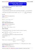 Luyện thi Đại học môn Toán 2015: Phương trình logarith (phần 6) - Thầy Đặng Việt Hùng