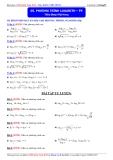Luyện thi Đại học môn Toán 2015: Phương trình logarith (phần 5) - Thầy Đặng Việt Hùng