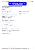 Luyện thi Đại học môn Toán 2015: Phương trình logarith (phần 7) - Thầy Đặng Việt Hùng