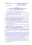 Quyết định Số: 52/2014/QĐ-TTg