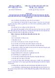 Thông tư Số: 30/2014/TT-BNNPTNT