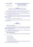 Thông tư Số: 28/2014/TT-BCT