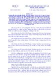 Thông tư Số: 07/2014/TT-BNV