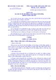 Thông tư Số: 28/2014/TT-BGDĐT