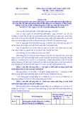 Thông tư Số: 122/2014/TT-BTC