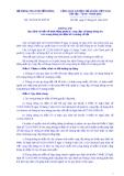 Thông tư Số: 09/2014/TT-BTTTT
