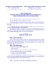 Thông tư liên tịch Số: 06/2014/TTLT-BTP-TTCP-BQP