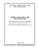 Chương trình dạy nghề Sửa chữa máy kéo công suất nhỏ (Trình độ sơ cấp)