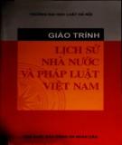 Giáo trình Lịch sử nhà nước và pháp luật Việt Nam: Phần 2 - NXB Công an nhân dân