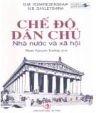 Ebook Chế độ dân chủ: Nhà nước và xã hội (Phần 2) - N.M. Voskresenskaia, N.B. Davletshina
