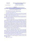 Nghị định Số: 61/2014/NĐ-CP