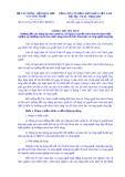Thông tư liên tịch Số: 121/2014/TTLT-BTC-BKHCN
