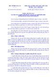 Thông tư liên tịch Số: 26/2014/TTLT-BYT-BCA