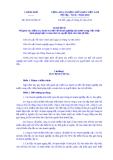 Nghị định Số: 49/2014/NĐ-CP
