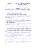 Nghị định Số: 75/2014/NĐ-CP