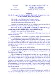 Nghị định Số: 56/2014/NĐ-CP