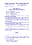 Thông tư liên tịch Số: 09/2014/TTLT-BTP-TANDTC-VKSNDTC-BTC