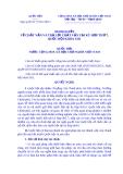 Nghị quyết Số: 75/2014/QH13