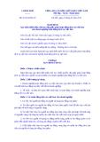 Nghị định Số: 52/2014/NĐ-CP