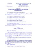 Nghị định Số: 25/2014/NĐ-CP