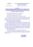 Nghị định Số: 73/2014/NĐ-CP