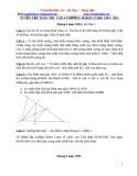 Tuyển tập đề thi Toán vào lớp 6 - Trường Marie Curie 1994 - 2011
