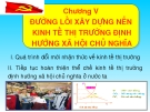 Bài giảng Đường lối Cách mạng của Đảng Cộng sản Việt Nam: Chương V - ThS. Dương Thị Thanh Hậu