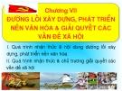 Bài giảng Đường lối Cách mạng của Đảng Cộng sản Việt Nam: Chương VII - ThS. Dương Thị Thanh Hậu