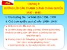 Bài giảng Đường lối Cách mạng của Đảng Cộng sản Việt Nam: Chương II - ThS. Dương Thị Thanh Hậu