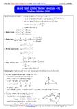 Toán học lớp 10: Hệ thức lượng trong tam giác (Phần 1) - Thầy Đặng Việt Hùng