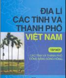 Ebook Địa lí các tỉnh và thành phố Việt Nam (Tập 1): Phần 2 - NXB Giáo dục