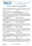 Chuyên đề LTĐH môn Vật lý: Khung dây quay trong từ trường