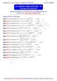 Toán học lớp 10: Phương trình chứa căn (Phần 4) - Thầy Đặng Việt Hùng