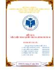 Đề tài Kỹ thuật xúc tác: Vật liệu mao quản trung bình MCM-50