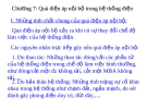 Bài giảng Kỹ thuật cao áp: Chương 7 Quá điện áp nội bộ trong hệ thống điện