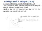 Bài giảng Kỹ thuật cao áp: Chương 5 Thiết bị chống sét (TBCS)