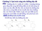 Bài giảng Kỹ thuật cao áp: Chương 3 Quá trình sóng trên đường dây tải điện