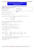 Luyện thi Đại học môn Toán 2015: Bất phương trình logarith (phần 2) - Thầy Đặng Việt Hùng