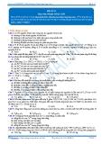 Luyện thi đại học KIT 2 môn Hóa học: Đề số 12 - Thầy Phạm Ngọc Sơn