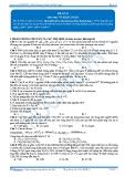 Luyện thi đại học KIT 2 môn Hóa học: Đề số 12 - Thầy Vũ Khắc Ngọc