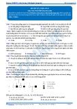 Luyện thi đại học KIT 2 môn Sinh học: Đề số 5 - GV. Nguyễn Quang Anh