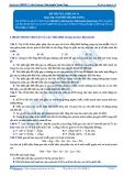 Luyện thi đại học KIT 2 môn Sinh học: Đề số 14 - GV. Nguyễn Thành Công