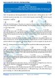 Luyện thi đại học KIT 2 môn Vật lí: Đề số 2- Thầy Đặng Việt Hùng