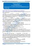Luyện thi đại học KIT 2 môn Sinh học: Đề số 9 - GV. Nguyễn Thành Công