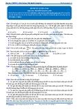 Luyện thi đại học KIT 2 môn Sinh học: Đề số 6 - GV. Nguyễn Quang Anh