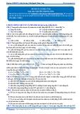 Luyện thi đại học KIT 2 môn Sinh học: Đề số 6 - GV. Nguyễn Thành Công