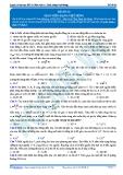 Luyện thi đại học KIT 2 môn Vật lí: Đề số 3 - Thầy Đặng Việt Hùng