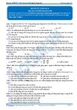 Luyện thi đại học KIT 2 môn Sinh học: Đề số 2 - GV. Nguyễn Quang Anh